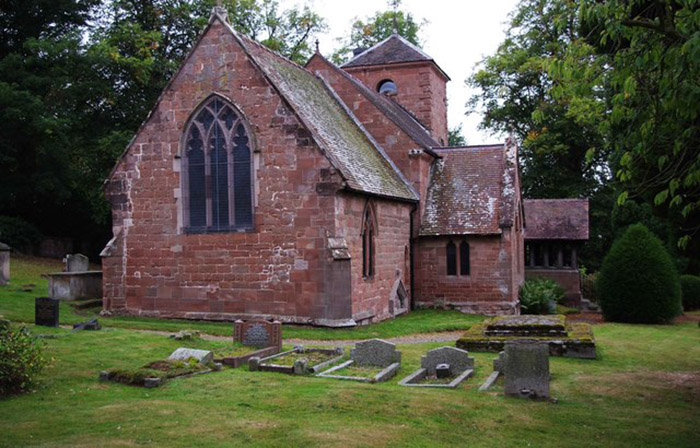 St. Milburga's Church, Badger Lane, Beckbury